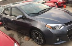 Foreign Used Toyota Corolla 2015 Model Blue