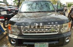 Nigeria Used Land Rover LR3 2006 Model Black