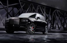 The new Cullinan Black Badge SUV completes the Rolls-Royce Black Badge lineup
