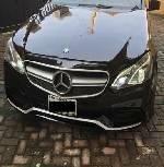 Nigeria Used Mercedes-Benz E350 2013 Model Black