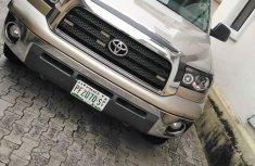 Nigeria Used Toyota Tundra 2009 Model Gold