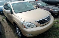 Foreign Used Lexus RX 2009 Model Gold