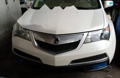 Foreign Used Acura MDX 2011 Model White