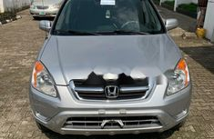 Foreign Used Honda CR-V 2002 Model Silver