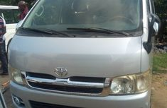 Foreign Used Toyota HiAce Hummer Bus 2012 Model Silver
