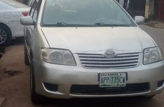 Nigeria Used Toyota Corolla 2006 Model Silver for Sale