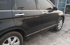 Nigeria Used Honda CR-V 2009 Model Black for Sale