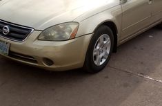 Nigeria Used Nissan Altima 2003 Model Gold for Sale