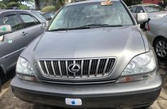Foreign Used Lexus RX 300 2002 Model Gray for Sale