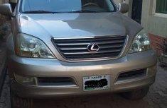 Nigeria Used Lexus GX 470 2004 Model Gold