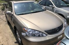 Foreign Used Toyota Camry XLE 2005 Model Gold