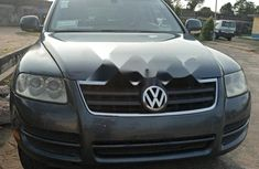 Nigeria Used Volkswagen Touareg 2006 Model Gray