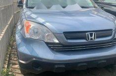 Foreign Used Honda CR-V 2007 Model Blue