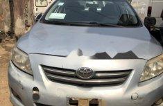 Nigeria Used Toyota Corolla 20009 Model Silver