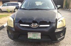 Nigeria Used Kia Sportage 2008 Model Black