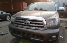 Foreign Used Toyota Sequoia 2008 Model Gray