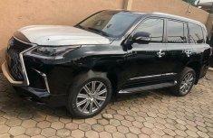 Foreign Used Lexus LX 2019 Model Black