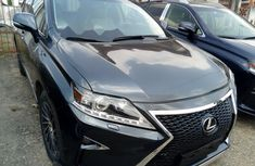 Foreign Used Lexus RX 2011 Model Black