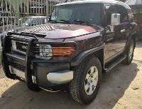 Nigeria Used Toyota FJ CRUISER 2007 Model Black