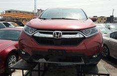 Foreign Used Honda CR-V 2019 Model Red