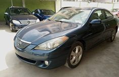 Foreign Used Toyota Solara 2006 Model Blue
