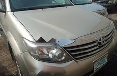 Nigeria Used Toyota Fortuner 2013 Model Beige