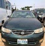 Nigeria Used Toyota Solara 2001 Model Green