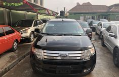 Foreign Used Ford Edge 2007 Model Black