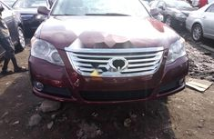 Foreign Used Toyota Avalon 2010 Model Red