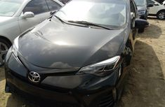 Foreign Used Toyota Corolla 2016 Model Black