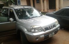 Nigeria Used Nissan X-Trail 2004 Model Silver for Sale