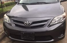 Foreign Used Toyota Corolla 2011 Model Black for Sale