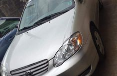 Foreign Used Toyota Corolla LE 2004 Model Silver for Sale