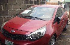 Nigeria Used Kia Rio 2013 Model Red for Sale