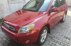 Foreign Used Toyota RAV4 2002 Model Red for Sale