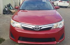 Foreign Used Toyota Camry LE 2012 Model Red for Sale