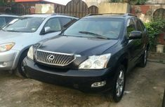 Foreign Used Lexus RX 2006 Model Black