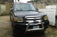 Nigeria Used Toyota Tundra 2006 Model Black for Sale