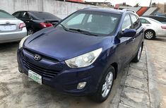 Nigeria Used Hyundai ix35 2008 Model Blue for Sale