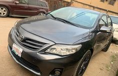 Nigeria Used Toyota Corolla 2011 Model Gray for Sale