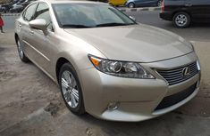 Foreign Used Lexus ES 2015 Model Gold