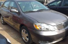 Foreign Used Toyota Corolla 2003 Model Gray