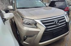 Foreign Used Lexus GX 2016 Model Gold