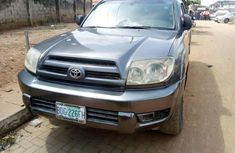 Nigeria Used Toyota 4Runner V6 2004 Model Gray for Sale