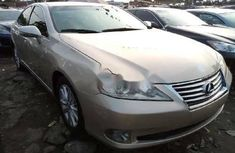 Foreign Used Lexus ES 2010 Model Gold