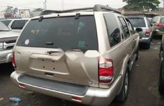 Foreign Used Nissan Pathfinder 2004 Model Gold
