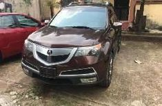 Foreign Used Acura MDX 2010 Model Brown