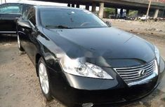 Foreign Used Lexus ES 2009 Model Black