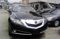 Foreign Used Acura ZDX 2010 Model Black