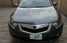 Nigeria Used Acura TSX 2009 Model Gray
